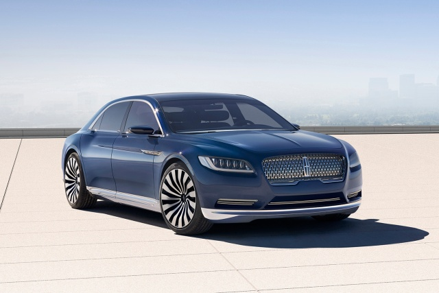 In Time For Christmas 2017 Lincoln Continental Spy Photos West