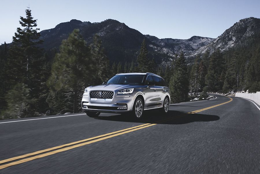 Key features of the 2020 Lincoln Aviator